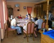 Dom Opieki Warszawa - obiad w kuchni