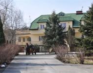 Dom Seniora Warszawa - wjazd